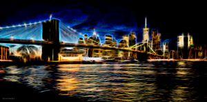 Electrical Brooklyn bridge