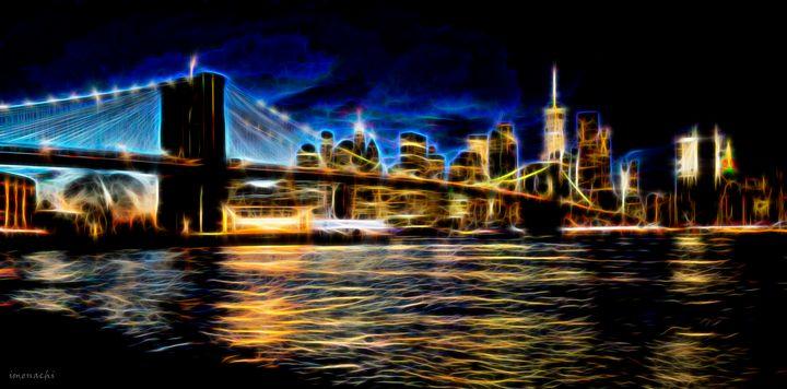 Electrical Brooklyn bridge - imenachi