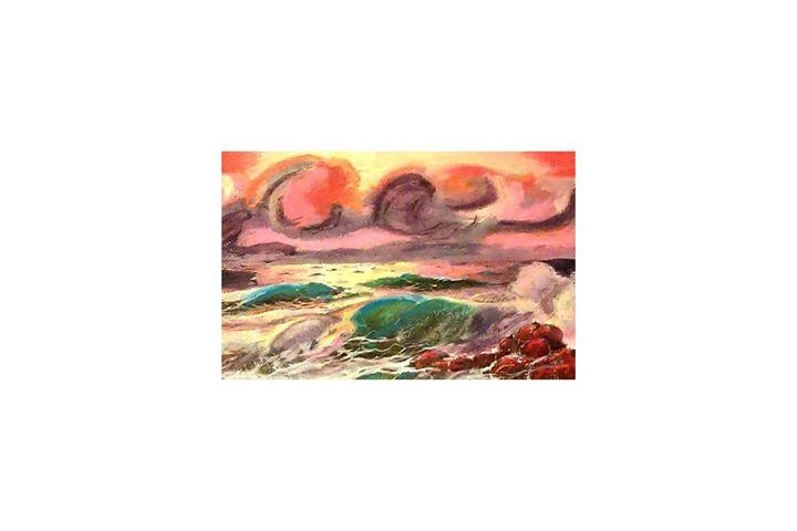 Sun Down - Bartlett Art