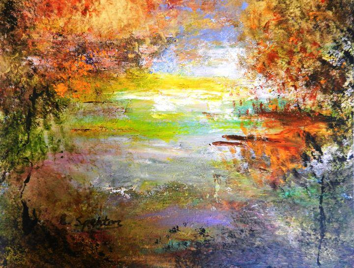 Autumn by Secret Lake - Esther Spektor