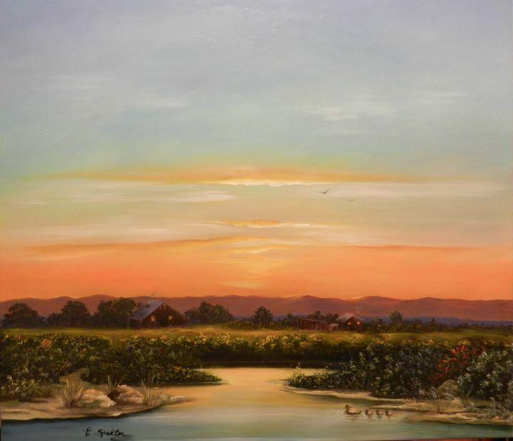 On golden pond - Esther Spektor