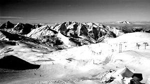 Les Deux Alpes in Monochrome