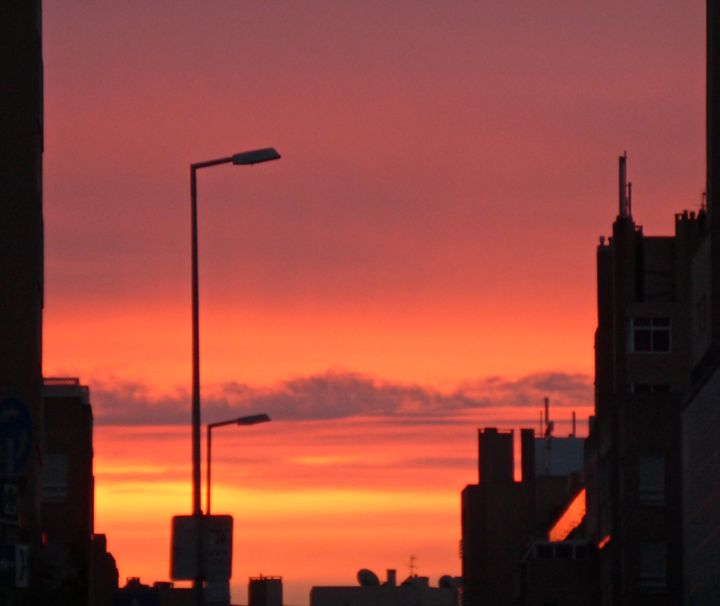 Sunrise in rio - city child