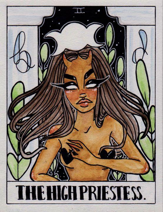 The High Priestess - Kimber Lee Creates