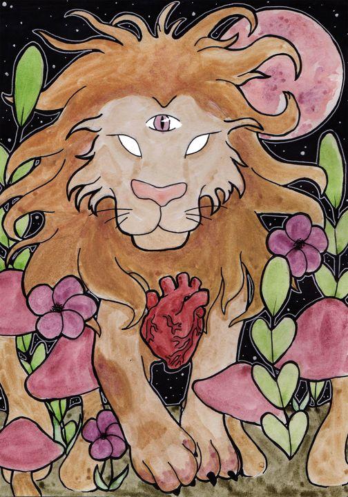 COMM Lions Heart - Kimber Lee Creates