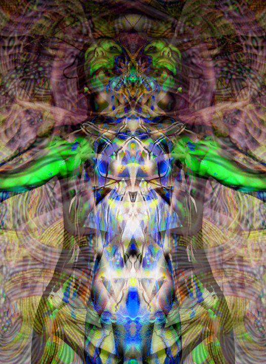 Fiber Optics - Art Period LLC / Artwork by Leigh Odom