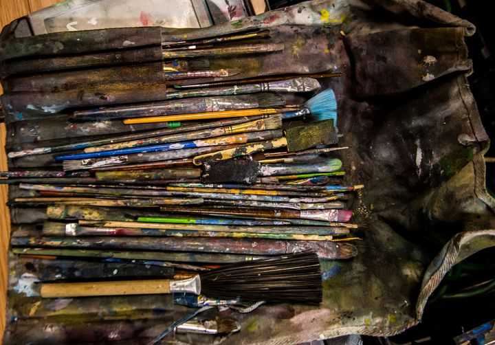 Paintbrushes - Art Period LLC / Artwork by Leigh Odom