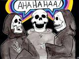 Funny Bones Stickers