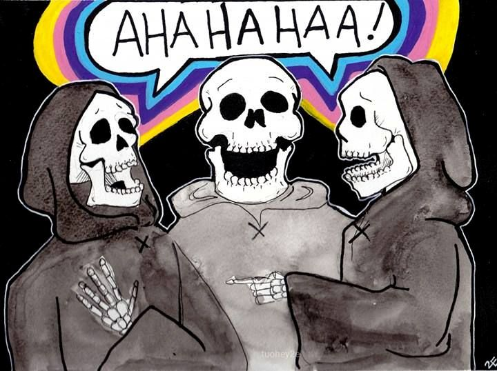 Funny Bones - Art by 2E