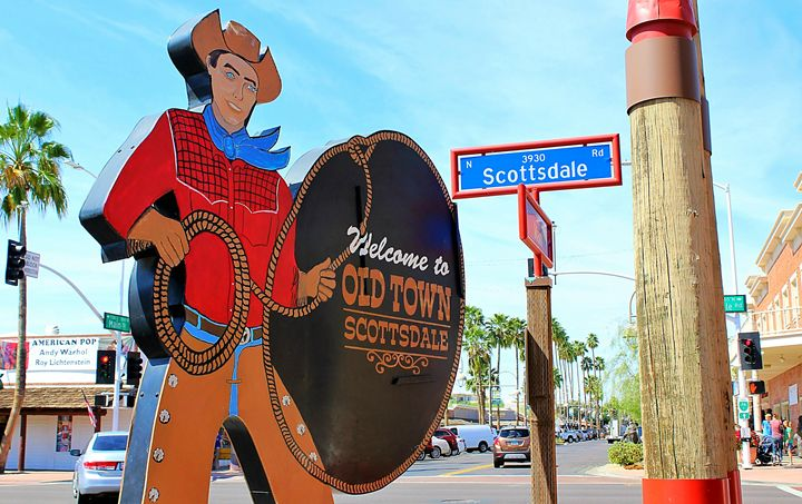 Old Town Scottsdale - Art by 2E