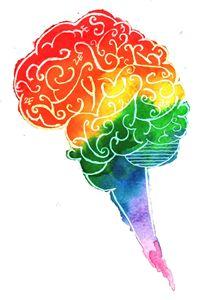 Rainbow Brain - Art by 2E