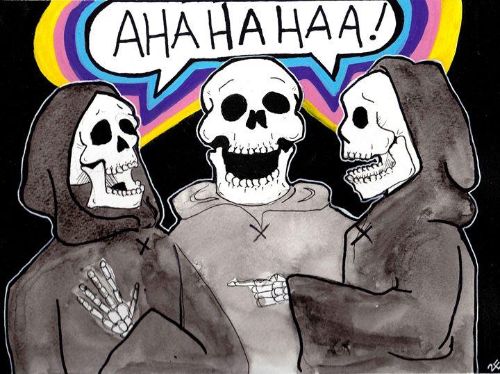 Funny Bones - Art by 2E