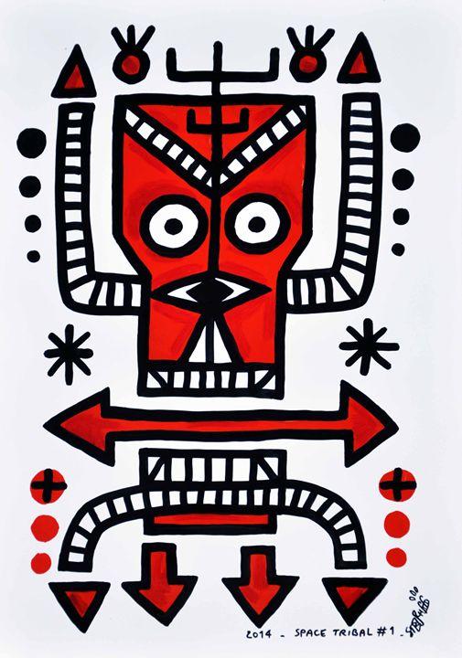 Space Tribal#1 - stephff's art