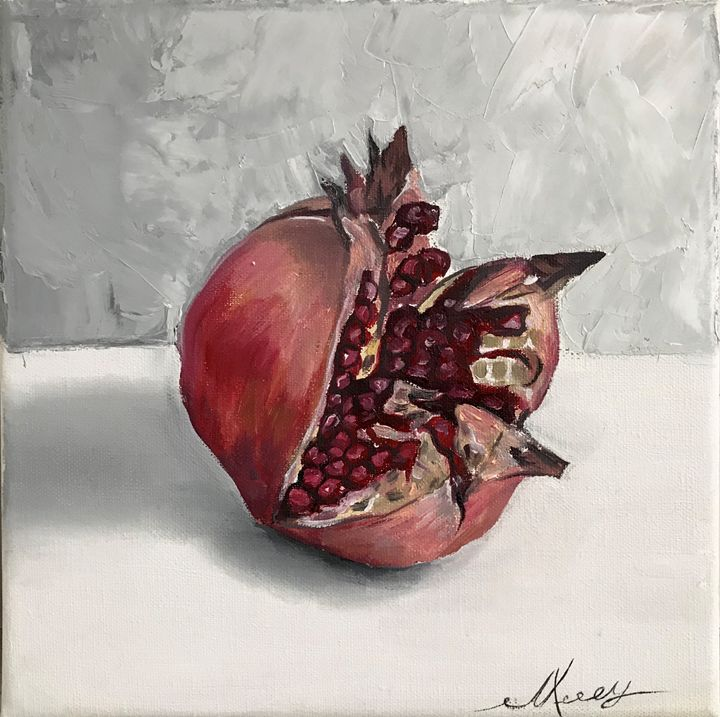 Pomegranate 2, still life - Leysan Khasan