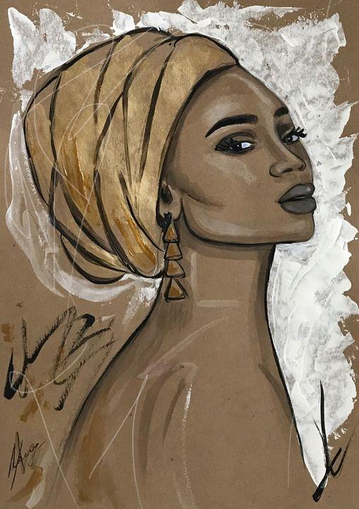 African beauty 3 - Leysan Khasan