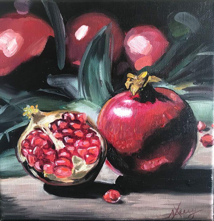 Pomegranates 4 - Leysan Khasan