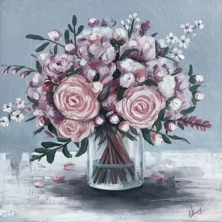 Flowers In vase - Leysan Khasan