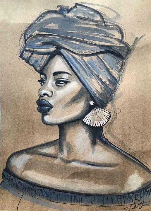 African Queen  N7 - Leysan Khasan