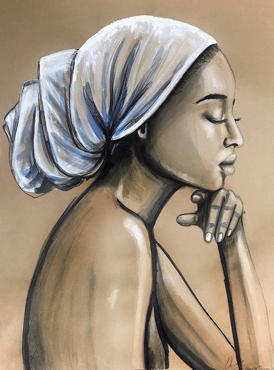 African Beauty - Leysan Khasan