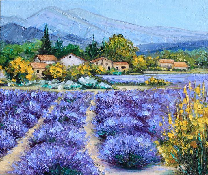 Provence village - Leysan Khasan