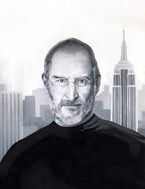 Steve Jobs art - Leysan Khasan