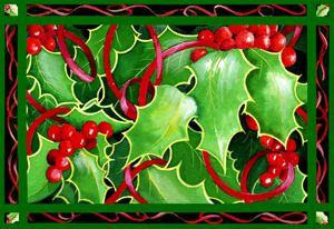 Christmas Holly & Berries - Janis Ilene Images