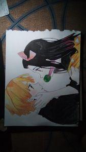 Zenitsu and Nezuko