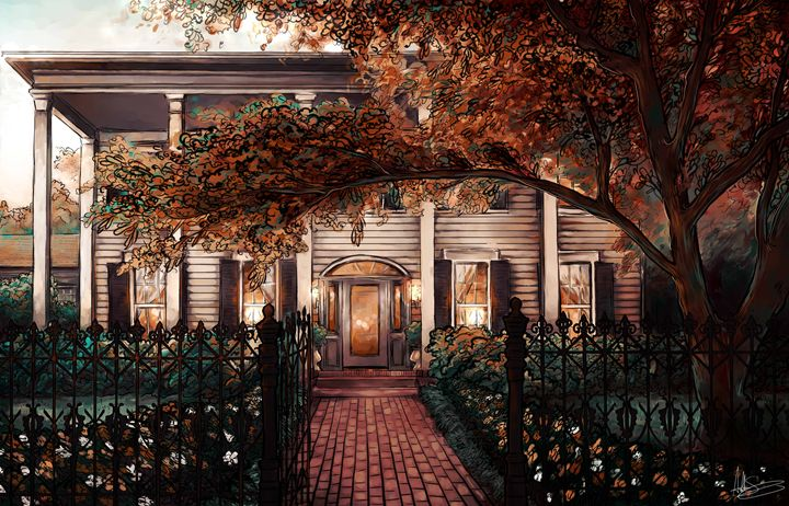 Flint Hill - Ashton Sunseri Illustration and Painting