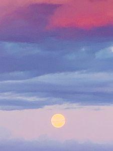 Alaskan summer sky