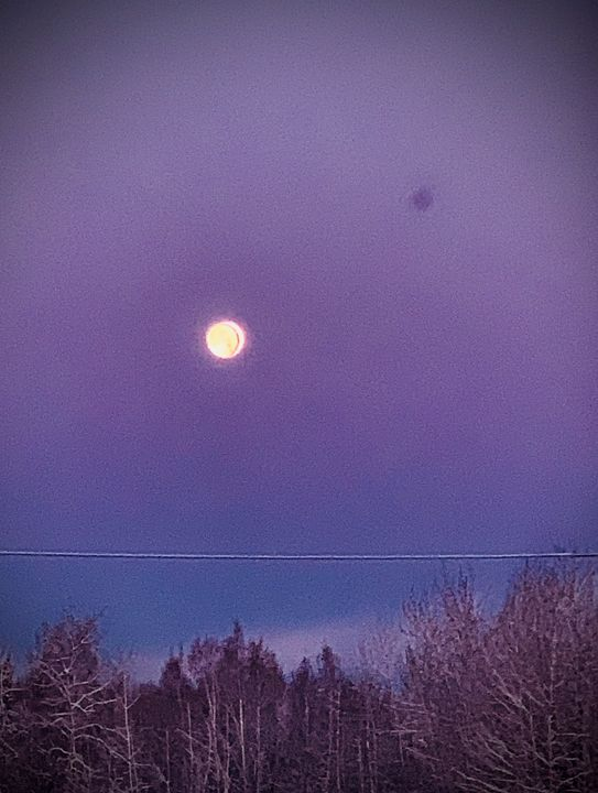October's second full moon - Be gr8 recre8
