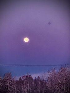 October's second full moon