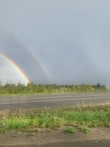 I found the end of the rainbow