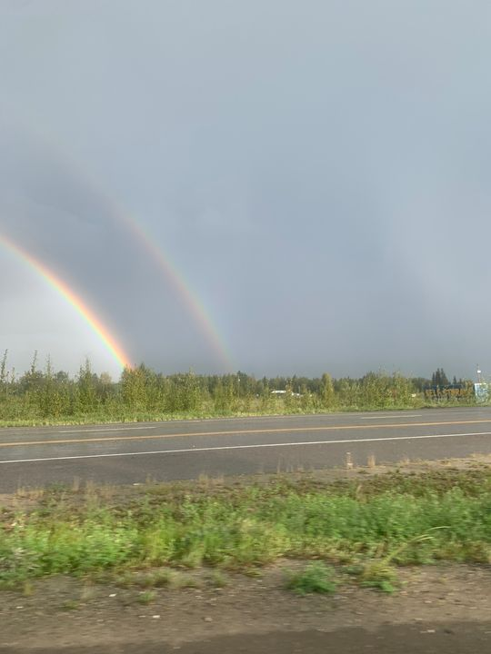 I found the end of the rainbow - Be gr8 recre8