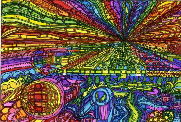 Dream Time - Sarah Davis Art