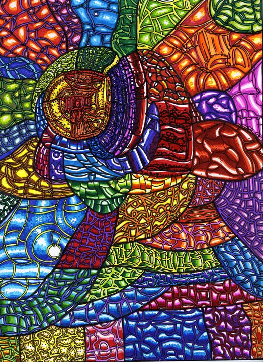 The Brain - Sarah Davis Art