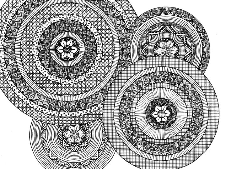 Saturn Rings - Sarah Davis Art