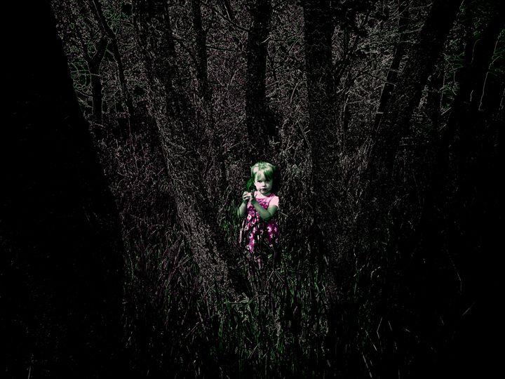 evil forest - donny d's art store