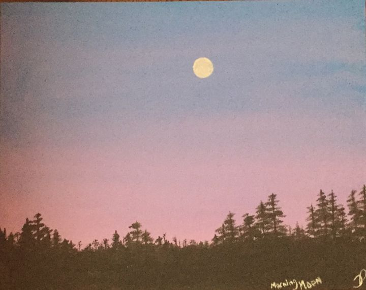 Morning Moon - Terri Price