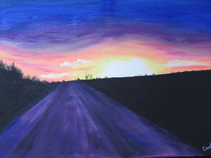 Country Sunset - Terri Price