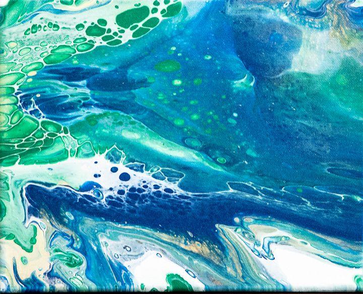 Abstract #19 - The Artist Spot