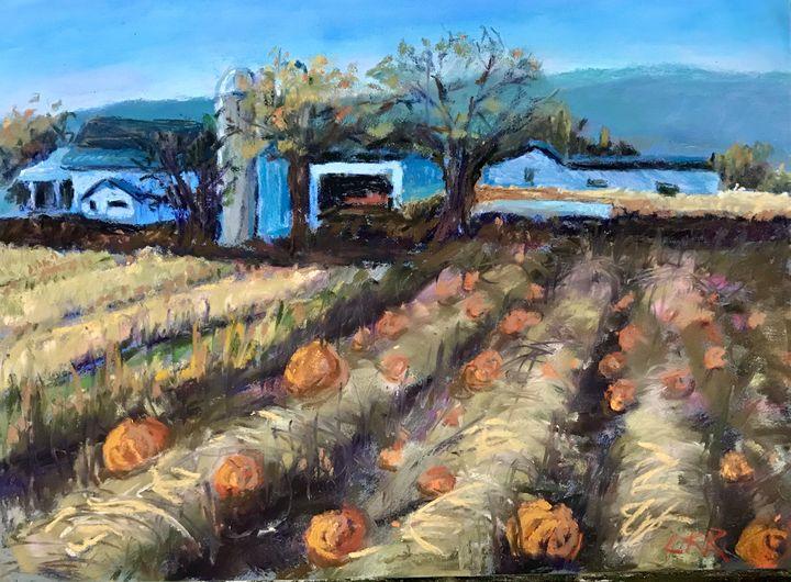 Day in Lancaster - Linda Kruger Robinson Pastels
