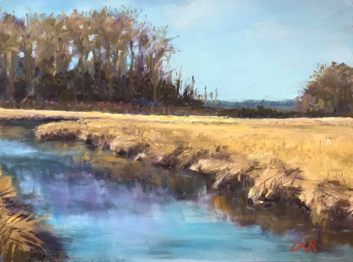 Beauty of south Jersey - Linda Kruger Robinson Pastels