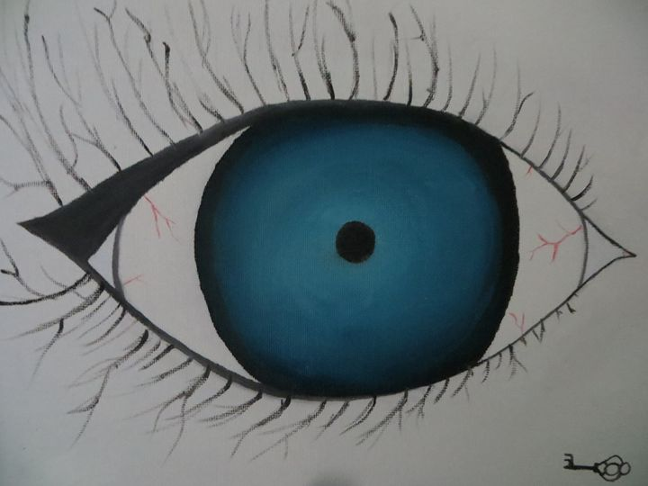 Blue Eye - Haley Riggle