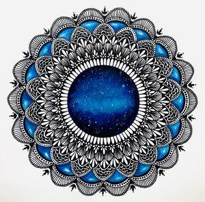 Mandala Universe - Feel the Blue!