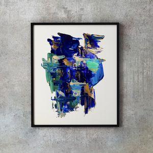 Bleu Waves #2