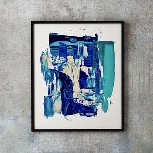 Blue Waves #3