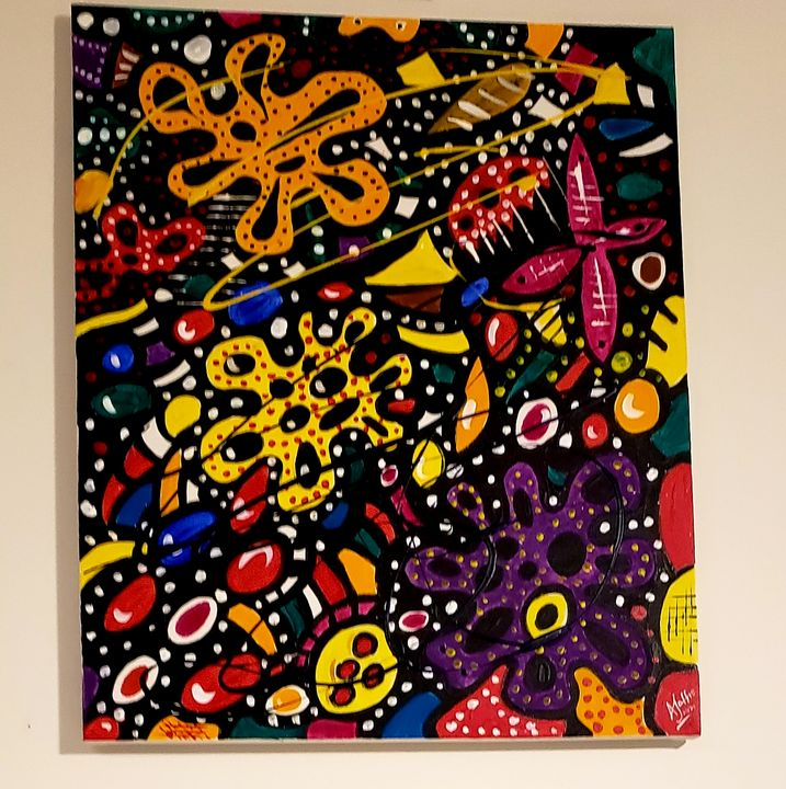 Amoeba in Color - The art of Tee