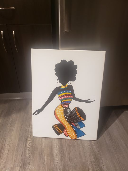 Upbeat Afrique - The art of Tee