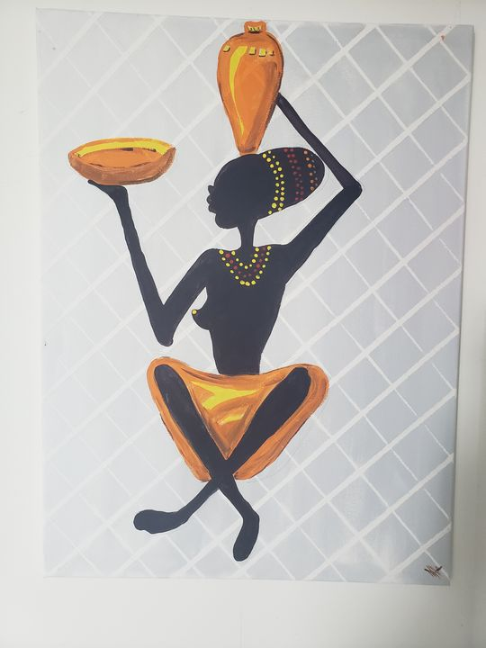 Lady of  leisure (Afrique) - The art of Tee
