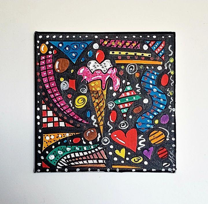 Ice Cream Space - The art of Tee